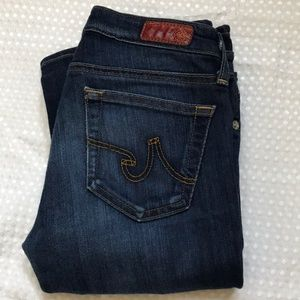 AG ADRIANO GOLDSCHMIED BOOT CUT JEANS SIZE 24R